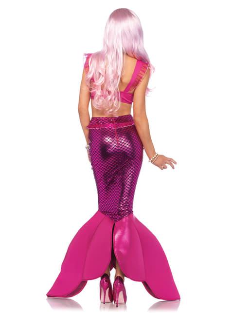 Disfraz de sirena Malibú para mujer - mujer