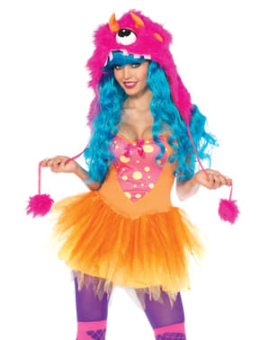 Costume da mostricciattola per donna
