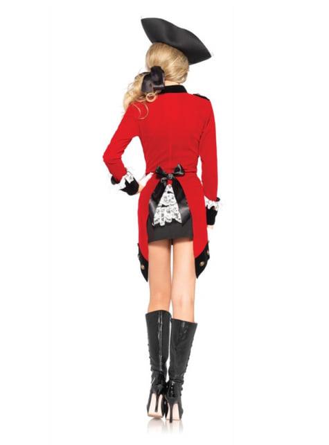 Kostium buntownicza kapitan damski