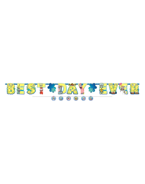 "SpongeBob ""Best Day Ever"" Garland"