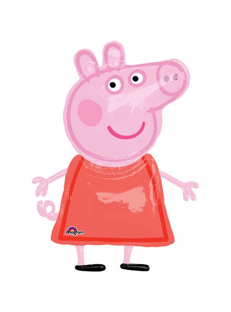 Globo con forma de Peppa Pig (1,20 m)