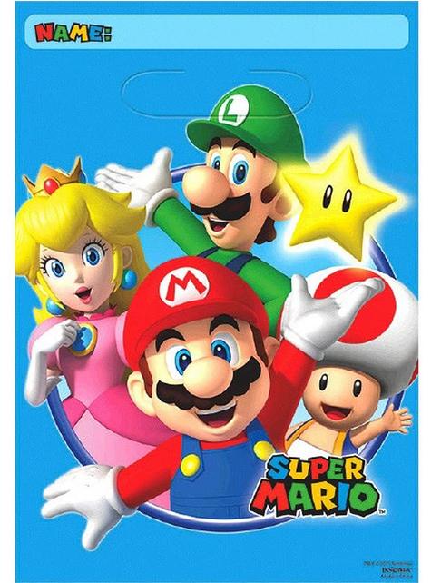 8 Super Mario Bros Party Bags