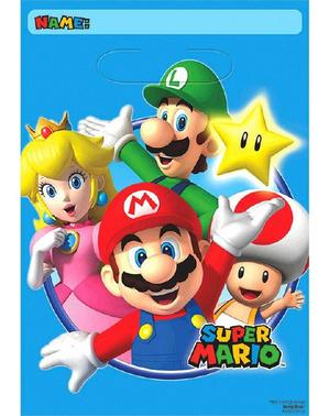 8 party tašek Super Mario Bros