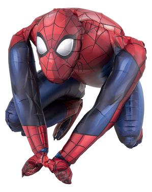 Spiderman-formet Ballon (38cm)