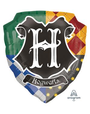 Ballong Harry Potter Hogwarts sköld (68 cm)