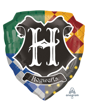 Harry Potter Hogwarts Crest Balloon (68 cm)