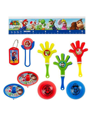 Mega set de 48 brinquedinhos de Super Mario Bros