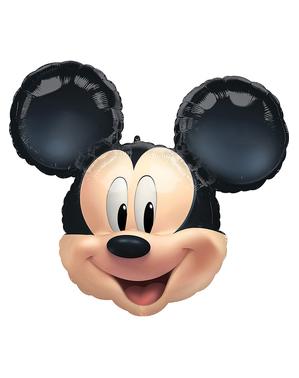 Balão com forma de Mickey Mouse