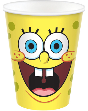 8 kelímků SpongeBob