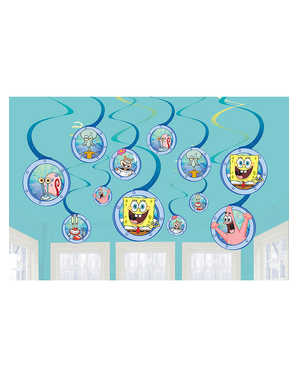 12 spirale de agățat SpongeBob