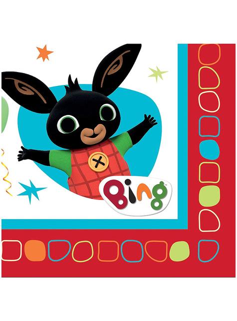 16 servilletas de Bing (33x33 cm)