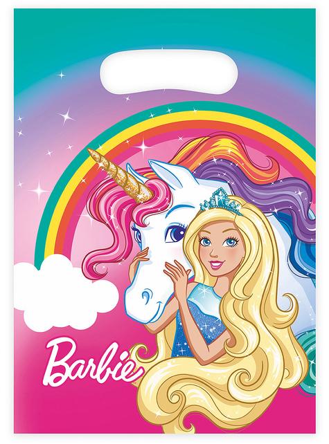 8 bolsas de chucherías de Barbie-Dreamtopia