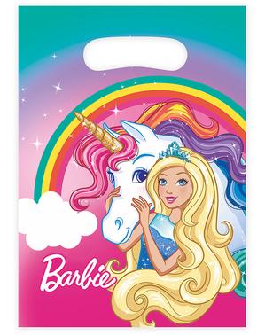 8 party tašek Barbie - Dreamtopia