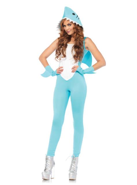 Women's Sexy but Fierce Shark Costume