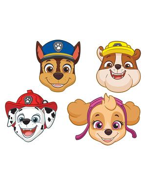 8 máscaras de Patrulha Pata infantis