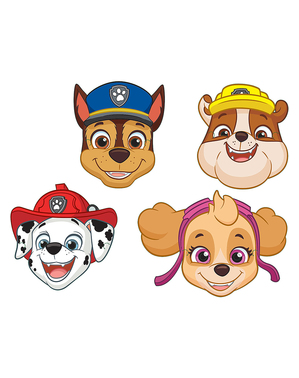 8 Paw Patrol Masks for Kids