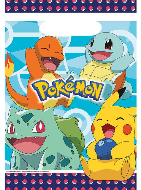 8 bolsas de chucherías de Pokémon