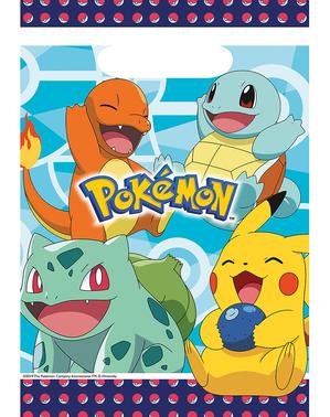 8 sacos de doces de Pokémon