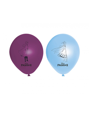 8 Frozen 2 Luftballons