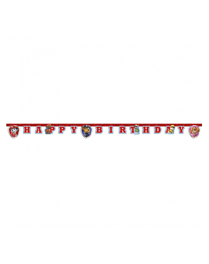 "Paw Patrol ""Happy Birthday"" Garland - Paw Patrol Ready For Action"