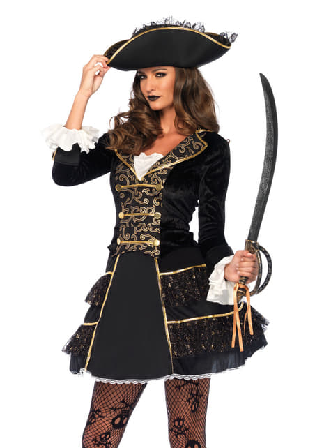 Women's Captain of the Seven Seas Costume