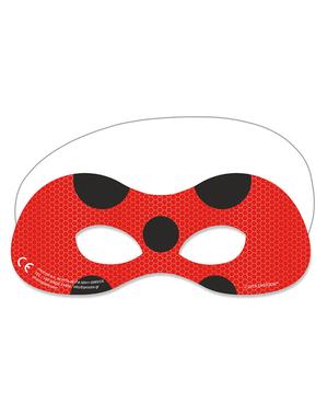 6 Mariehøne Masker - Miraculous Ladybug