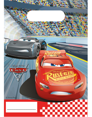 6 Party Bags Cars 3