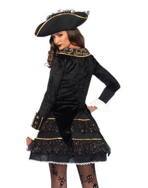 Kapitein uit de zeven zeeën Kostuum voor dames
