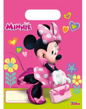 6 Minnie Maus Süßigkeitentüten - Minnie Happy Helpers