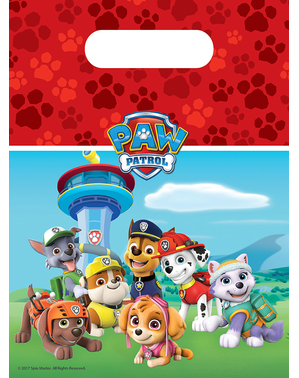 6 Paw Patrol Party Bags - Paw Patrol Ready for Action