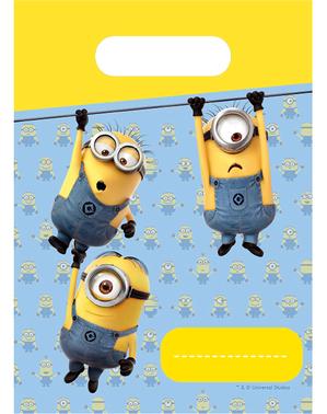 6 bolsas de chucherías de Minions - Lovely Minions