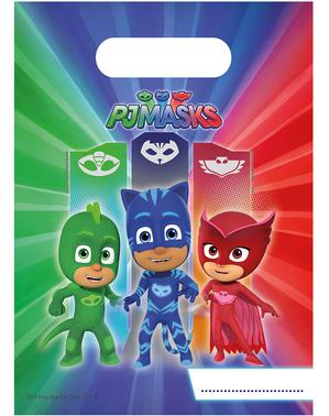 6 sacos de doces de PJ Masks