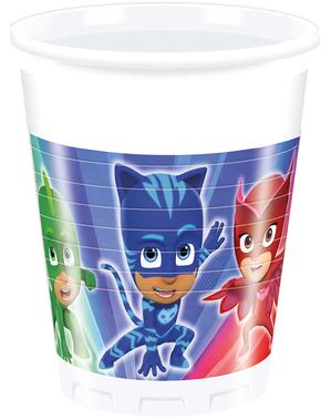 8 PJ Masks Cups