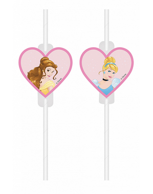 4 Disney Princess Straws - Princess Dreaming