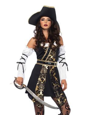 Woman's Elegant Buccaneer Costume