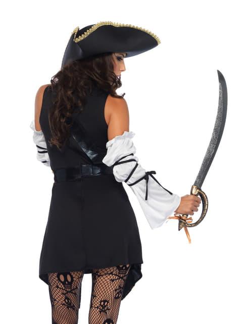 Dámský kostým elegantní pirátka