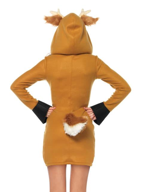 Disfraz de ciervo para mujer - mujer