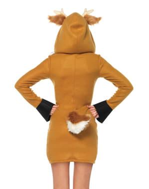 Costume da cervo per donna
