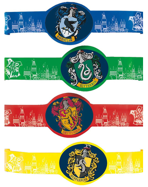 4 Harry Potter Hogwarts Houses Bracelets