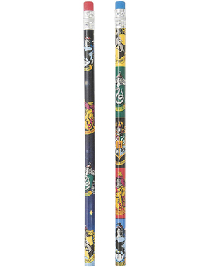 8 Harry Potter Hogwarts Houses Pencils