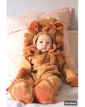 Ruskea leijona-asu vauvoille