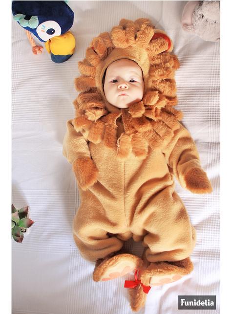Kostým pro nejmenší lev hnědý