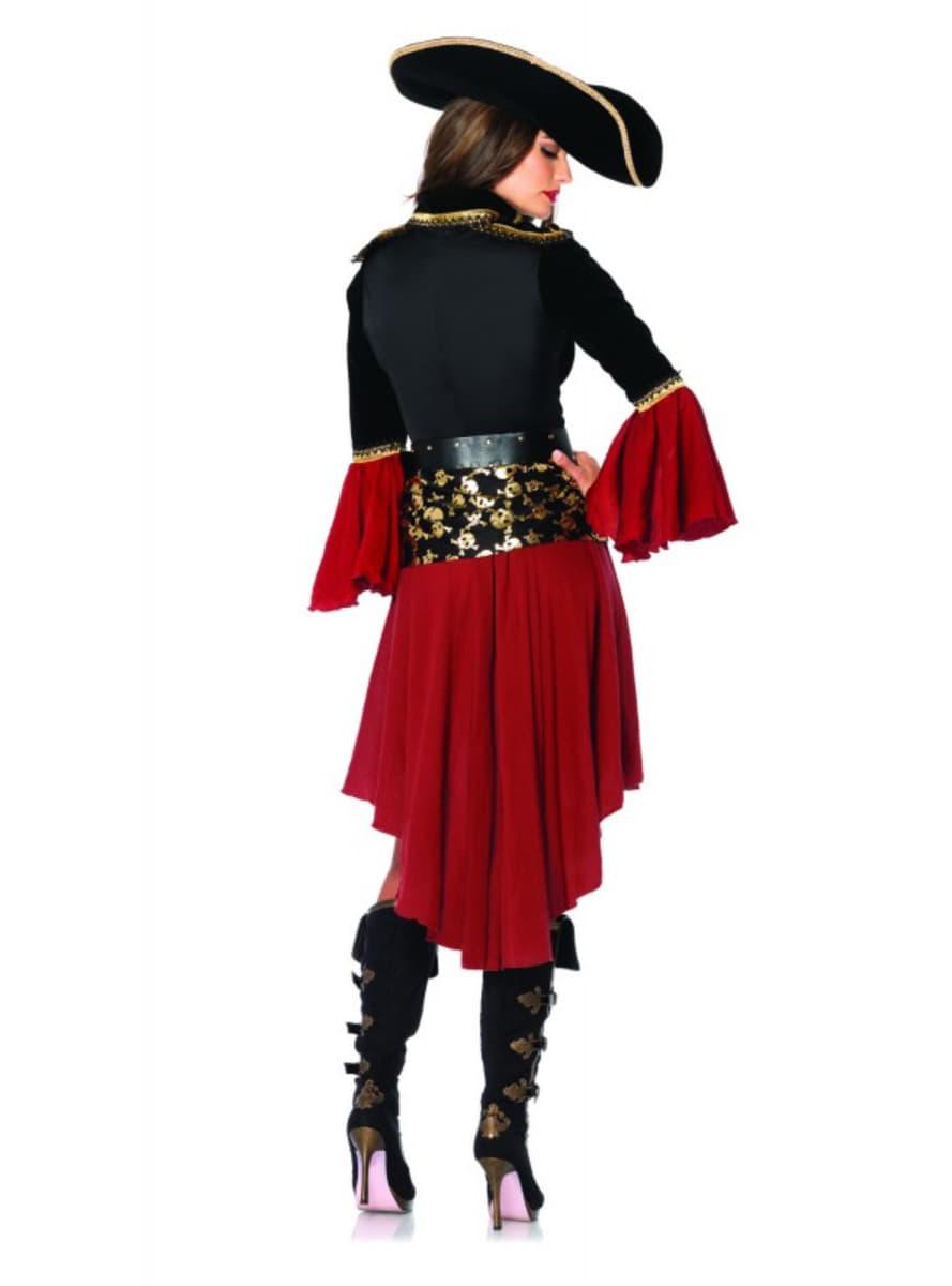 Womanu0027s Cruel Pirate Captain Costume  sc 1 st  Funidelia & Womanu0027s Cruel Pirate Captain Costume. Fast delivery   Funidelia