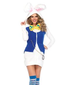 Bunny Kanin Kostyme Dame