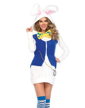 תלבושות הארנב של האישה