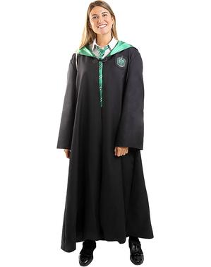 Fato Slytherin Harry Potter para adulto