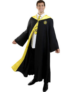 Maskeraddräkt Hufflepuff Harry Potter för vuxen