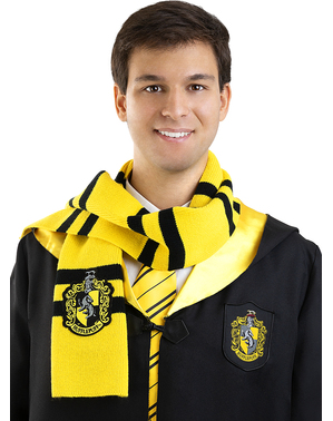 Harry Potter Hufflepuff Halstørklæde