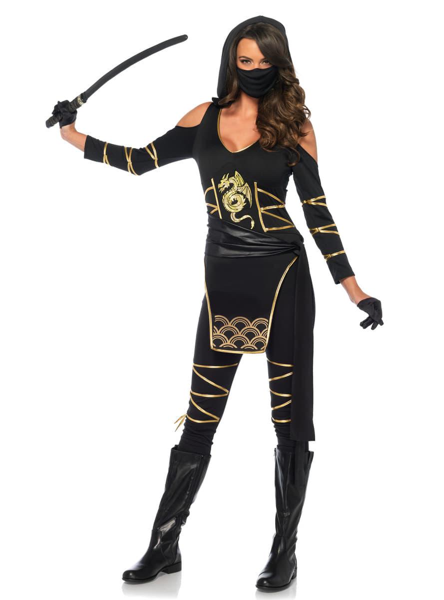 View image  sc 1 st  Funidelia & Womanu0027s Stealthy Ninja Costume