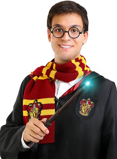 Varita de Harry Potter con luz
